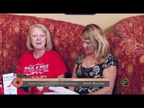 WI57 Girl Talk | YWCA Walk a Mile in Her Shoes | Episode 408 | 8/3/17