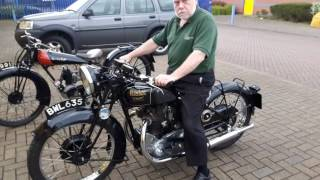1935 Rudge Ulster Video