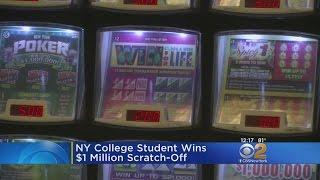 NY College Student Wins $1 Million