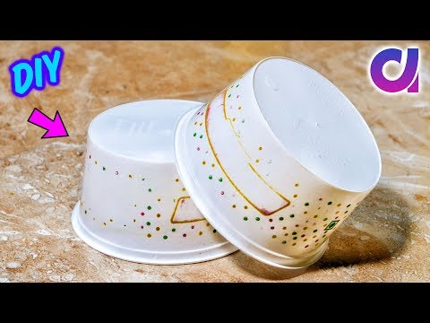 Best out of Waste Plastic Container Craft idea | Home Decor 2019 | Artkala