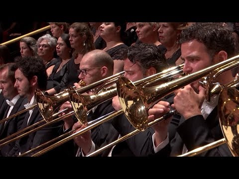 Mahler 2nd symphony brass choral Royal Concertgebouw Orchestra, D. Gatti
