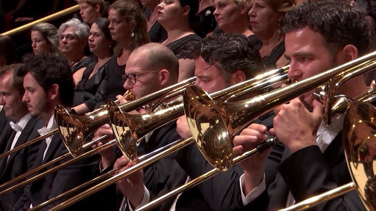 Mahler 2nd symphony brass choral Royal Concertgebouw Orchestra, D. Gatti -  YouTube