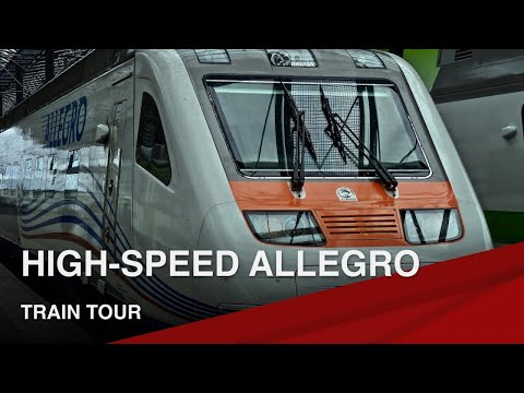 Exclusive Tour of the High-Speed Allegro Train