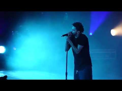 J. Cole - Intro / January 28th live @ Forest Hills Drive Tour,San Francisco [HD]