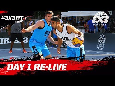 FIBA 3x3 World Tour Saskatoon Masters 2017 - Day 1 - Re-Live
