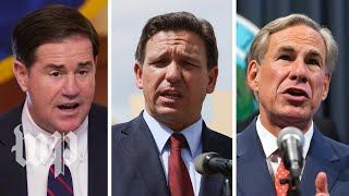 Republican governors shift rhetoric on masks and vaccines