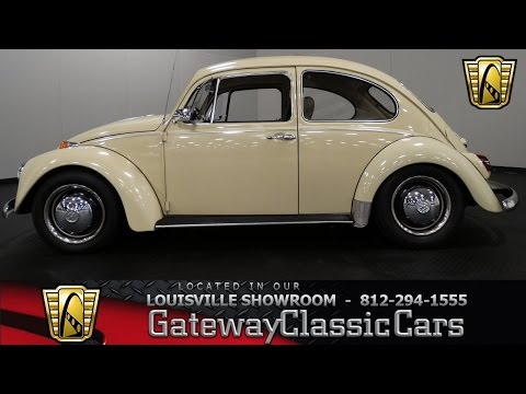 1969 Volkswagen Beetle - Louisville Showroom - Stock # 1105