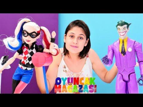 Ayşe'nin oyuncak mağazası. Joker'in yardımcı arkadaşı - Harley Quinn! from YouTube · Duration:  3 minutes 13 seconds