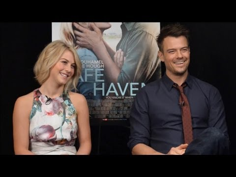 Julianne Hough & Josh Duhamel - Safe Haven Interview HD