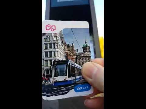 HOW TO: Easy Way To Ride The Trams In Amsterdam NE