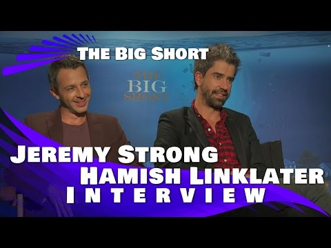 Jeremy Strong and Hamish Linklater  : The Big Short