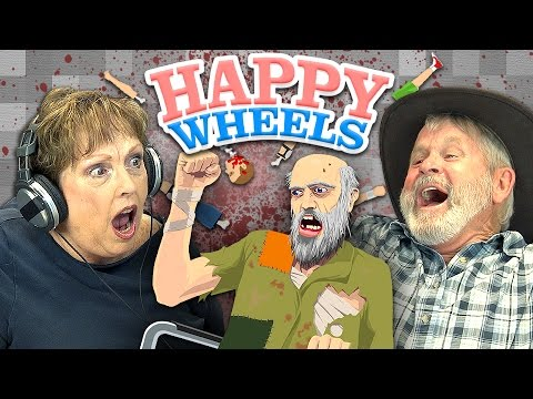 HAPPY WHEELS (Elders React: Gaming)