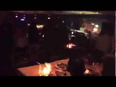 Karaoke at decanter lounge Amman