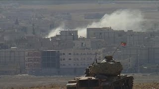 After Ignoring ISIS Assault on Kobani, U S  Launches Major Strikes & Arms Turkey's Kurdish Foes