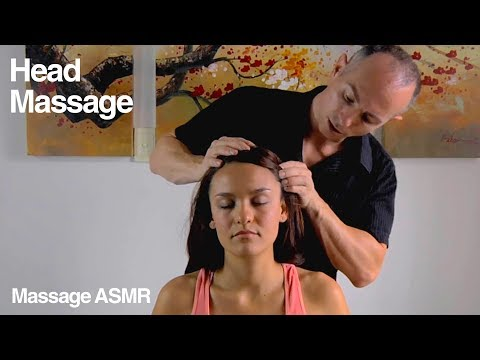 Head Massage & Face Massage - Relaxing ASMR from YouTube · Duration:  12 minutes 28 seconds