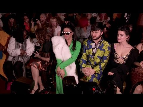 Cardi B, Coco Rocha and more front row for the Christian Siriano Show in NYC