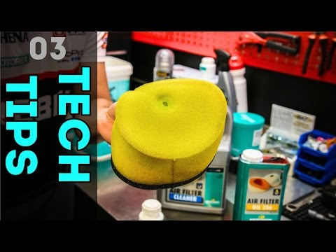 Tech Tips | HOW TO CLEAN THE AIR FILTER?