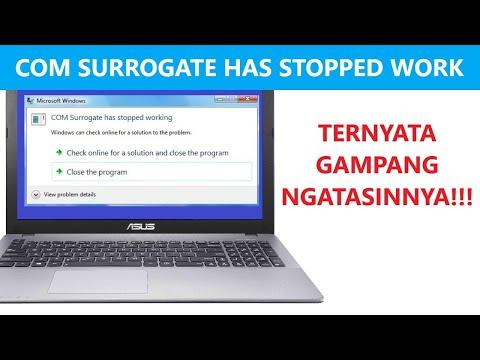 ✔ Cara Mengatasi COM Surrogate Has Stopped Working - Windows 10 , 8.1 , 7