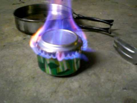 Fast Start Alcohol Pop Can Stove 1
