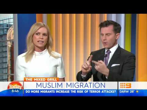 Sonia Kruger on TODAY calls for stop to Muslim Immigration