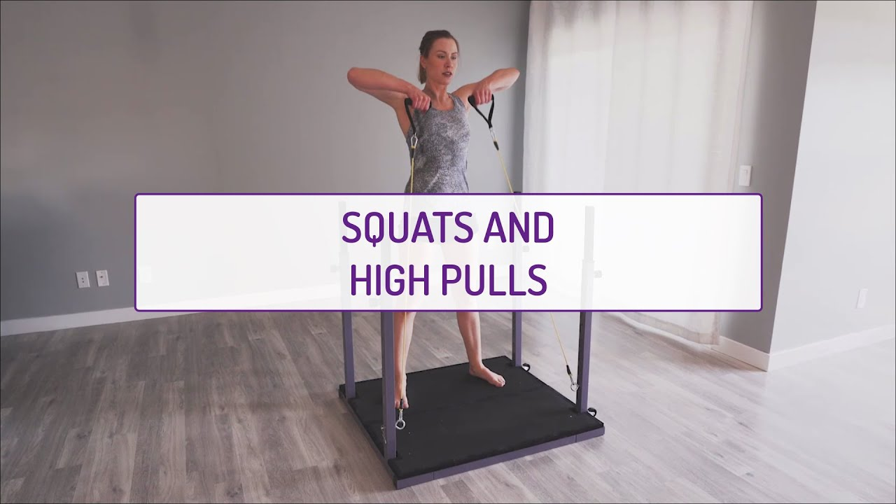 Home Exercises | Squats and High Pulls | Strength | Legs & Shoulders