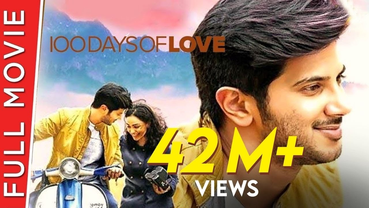 100 Days of Love New Hindi Dubbed Full Movie | Dulquer Salmaan, Nithya Menen, Sekhar, Aju | 4K