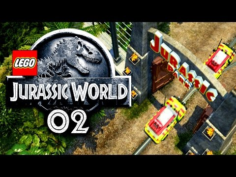 LEGO JURASSIC WORLD - Willkommen im JURASSIC PARK