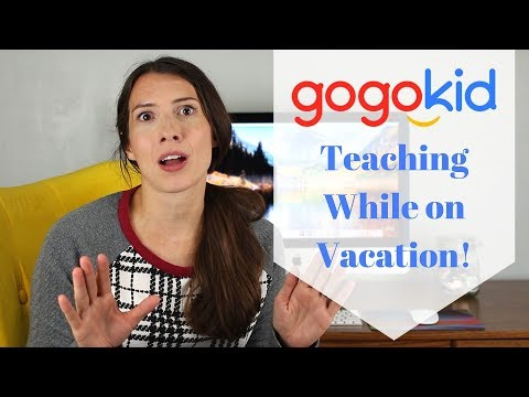 Teaching While on Vacation
