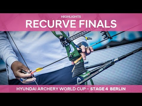 Recurve Highlights | Berlin 2017 Hyundai Archery World Cup stage 4