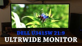Episode 30 - Dell Ultrasharp U3415W Ultrawide 21:9 Monitor Review