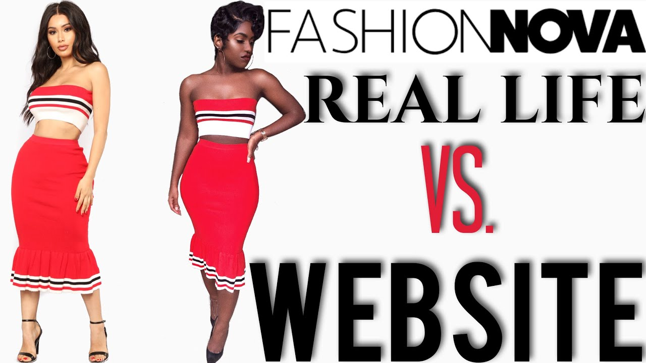 Fashion Nova Try On Haul 2018 | Real Life vs. Website ...