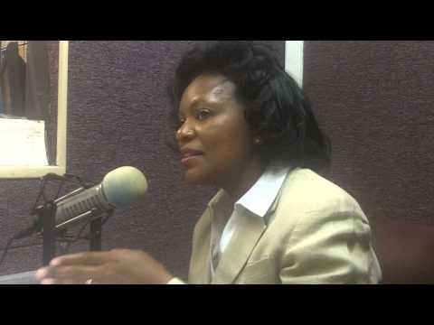 Charles Evers Of WMPR Interviews  Jackson Mayoral Candidate Regina Quinn