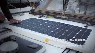 Installatie Flexibel & Beloopbaar Zonnepaneel Sunbeam