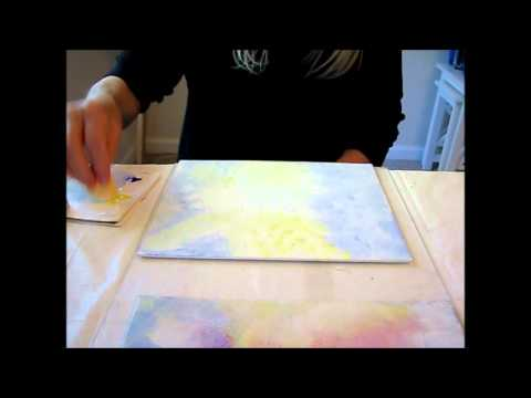 Abstract painting tutorial on canvas 3 youtube for Abstract watercolor painting tutorial