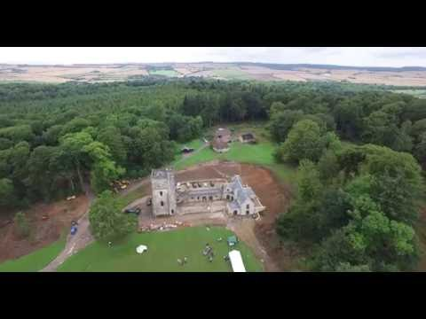 Fonthill Abbey Flyby August 2016