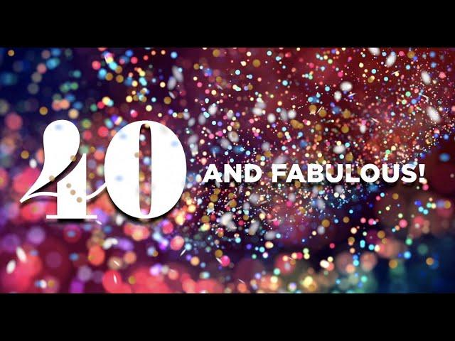 40 & Fabulous Auction Video