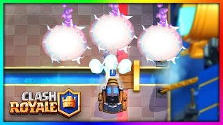 NEW RAPID FIRE SPARKY GLITCH In Clash Royale!