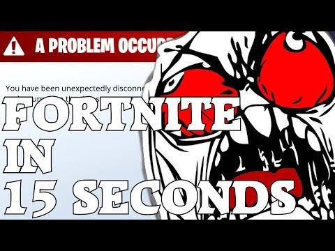 Fortnite In 15 Seconds