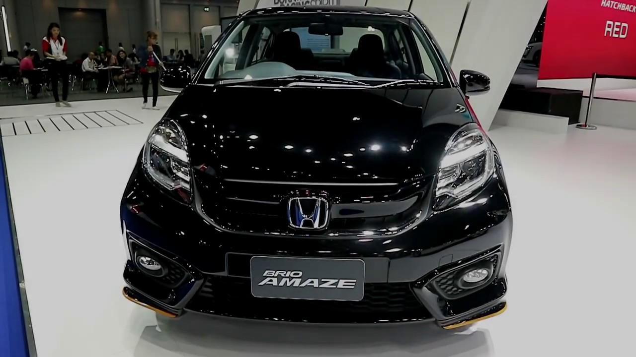 Honda Brio Amaze 2018 Black Colour Exterior And Interior Youtube