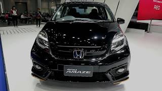 Honda Brio AMAZE 2018,Black colour ,Exterior and Interior