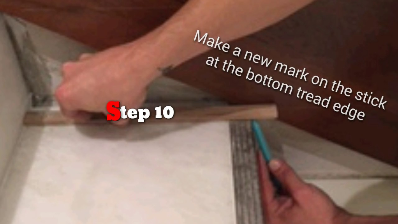 How To Scribe Skirt Boards Into Any Stairway Flawlessly