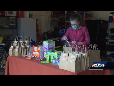 Kentucky Country Day Freshman Provides Snacks For Frontline Workers