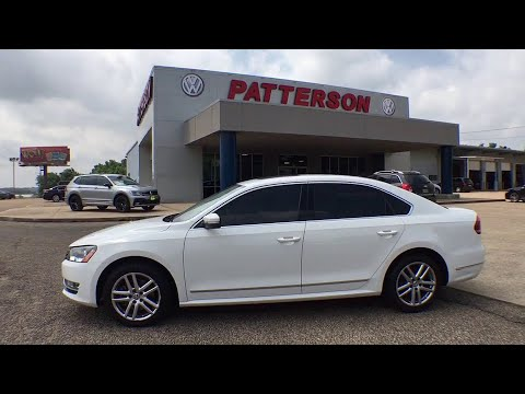 2014 Volkswagen Passat Tyler, Longview, Lufkin, Nacogdoches, Shreveport, TX T2699