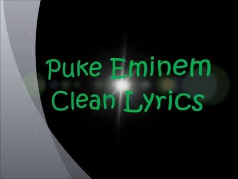 Puke Clean Lyrics Eminem