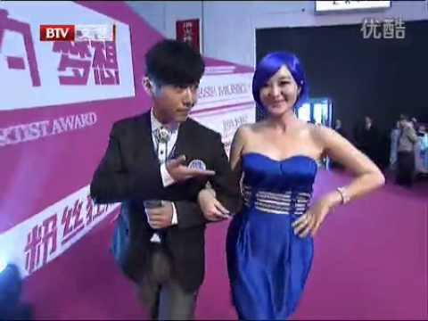 120927 EXO on Red Carpet @ 5th Mengniu Music Awards on BTV-2