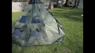 Review Gear Guide TeePee Tent, for Camping.