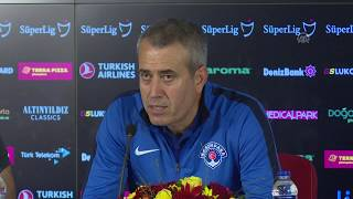 Kasımpaşa Teknik Direktörü Kemal Özdeş'in Galatasaray maçı sonu açıklamaları