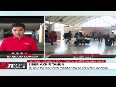 Jumlah Penumpang di Bandara Lombok Meningkat