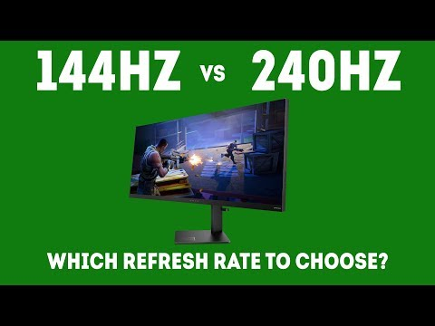 144Hz vs 240Hz - Which Refresh Rate Should I Choose For Gaming In 2019?