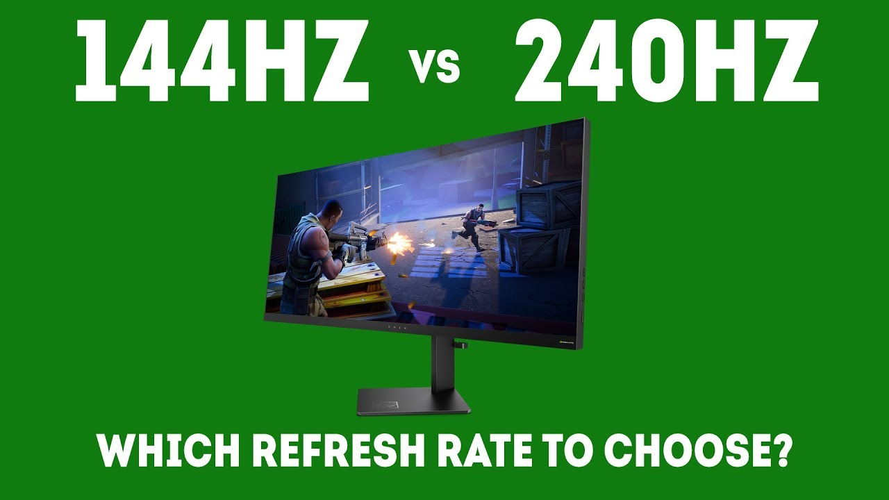 144hz vs 240hz which refresh rate should i choose for gaming in 2019 - fortnite 144hz vs 240hz